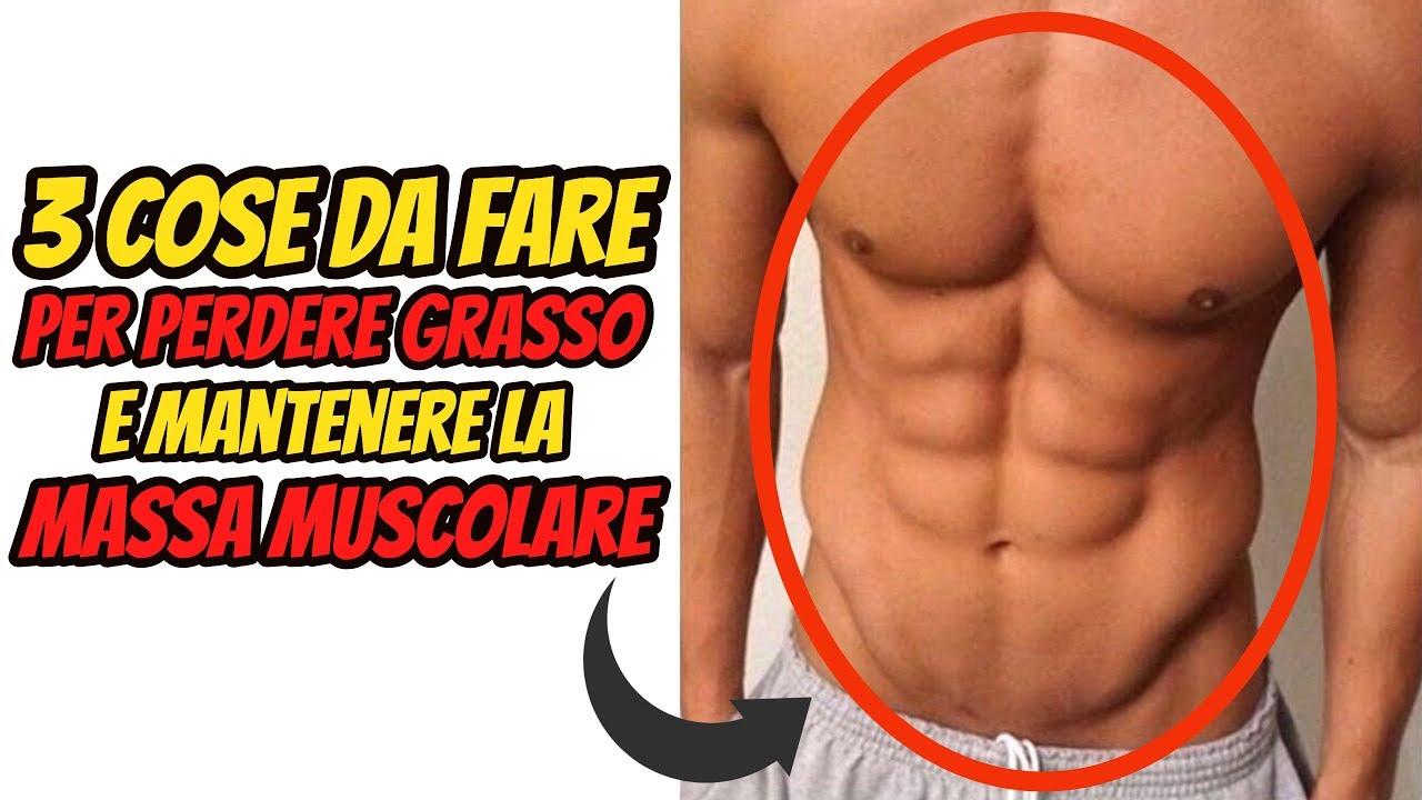come perdere grasso e aumentare la massa muscolare senza perdere peso