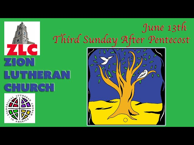 Service - 20210613 - 3rd Sunday After Pentecost