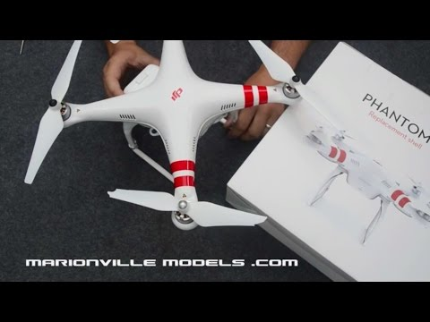 Crashed your DJI Phantom2?, How to Change, Replace the Body