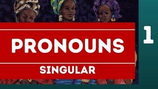 Yoruba Pronouns 1 Singular Personal Pronouns I You and HeSheIt  r Arp-Orko