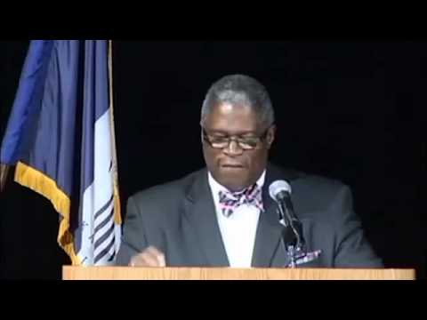 Kansas City Mayor Sly James Speech Interrupted When Man Storms Stage