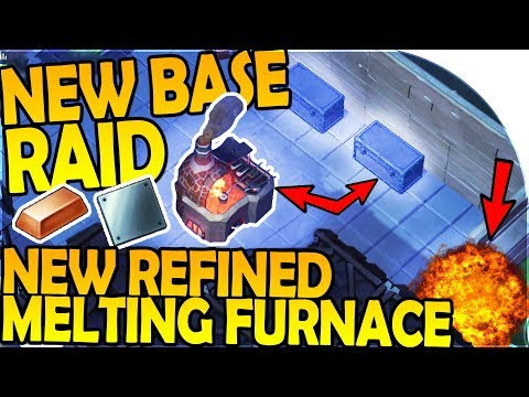 NEW BASE RAID w/ EPIC LOOT, REFINED MELTING FURNACE, STEEL - Last Day On Earth Survival 1.6.0 Update