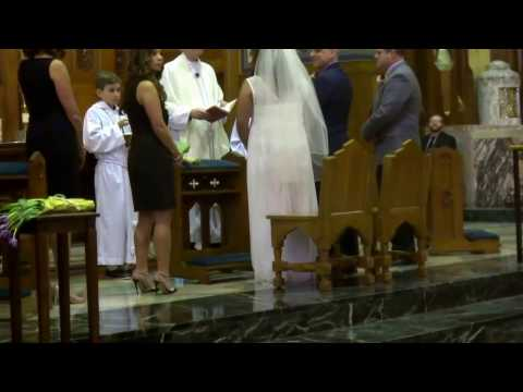 Char & Nick's Catholic Wedding (Christian marriage)