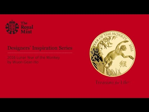 2016 Lunar Year of the Monkey - The Royal Mint