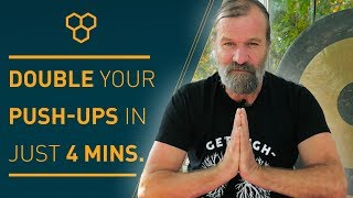 The Power Of The Breath By Wim Hof - Double Your Pushups Without Breathing