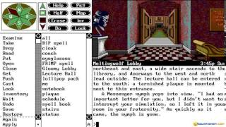 Spellcasting 201 gameplay (PC Game, 1991)