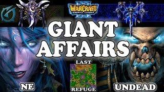Grubby | Warcraft 3 TFT | 1.29 | NE v UD on Last Refuge - Giant Affairs