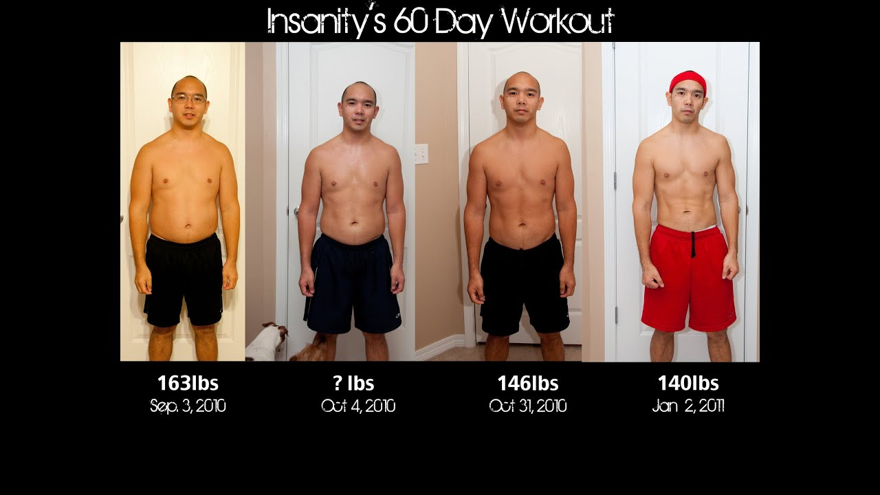 My Insanity Transformation Video - YouTube