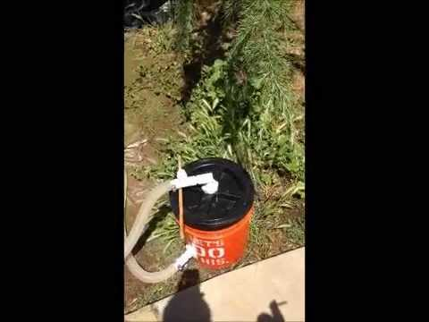 Homemade Pool Filter Youtube