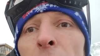 Павел Воля охотится на снег