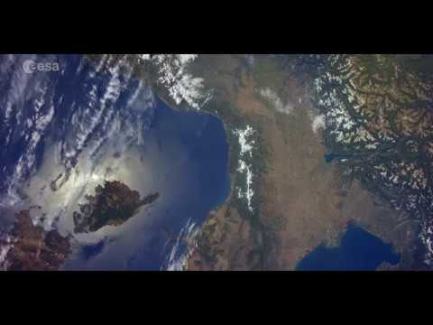 All the beauty of Italy from the Space Station