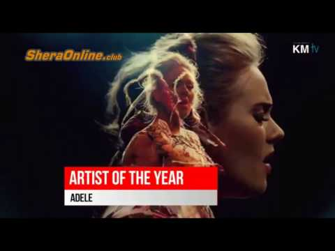 Artist of The Year WINNER - American Music Awards (AMA) 2016 winners