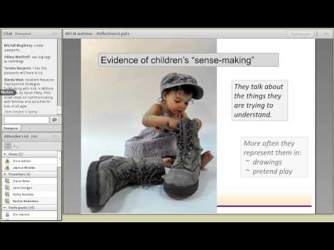 Reflections of Military Life in Young Children's Activity