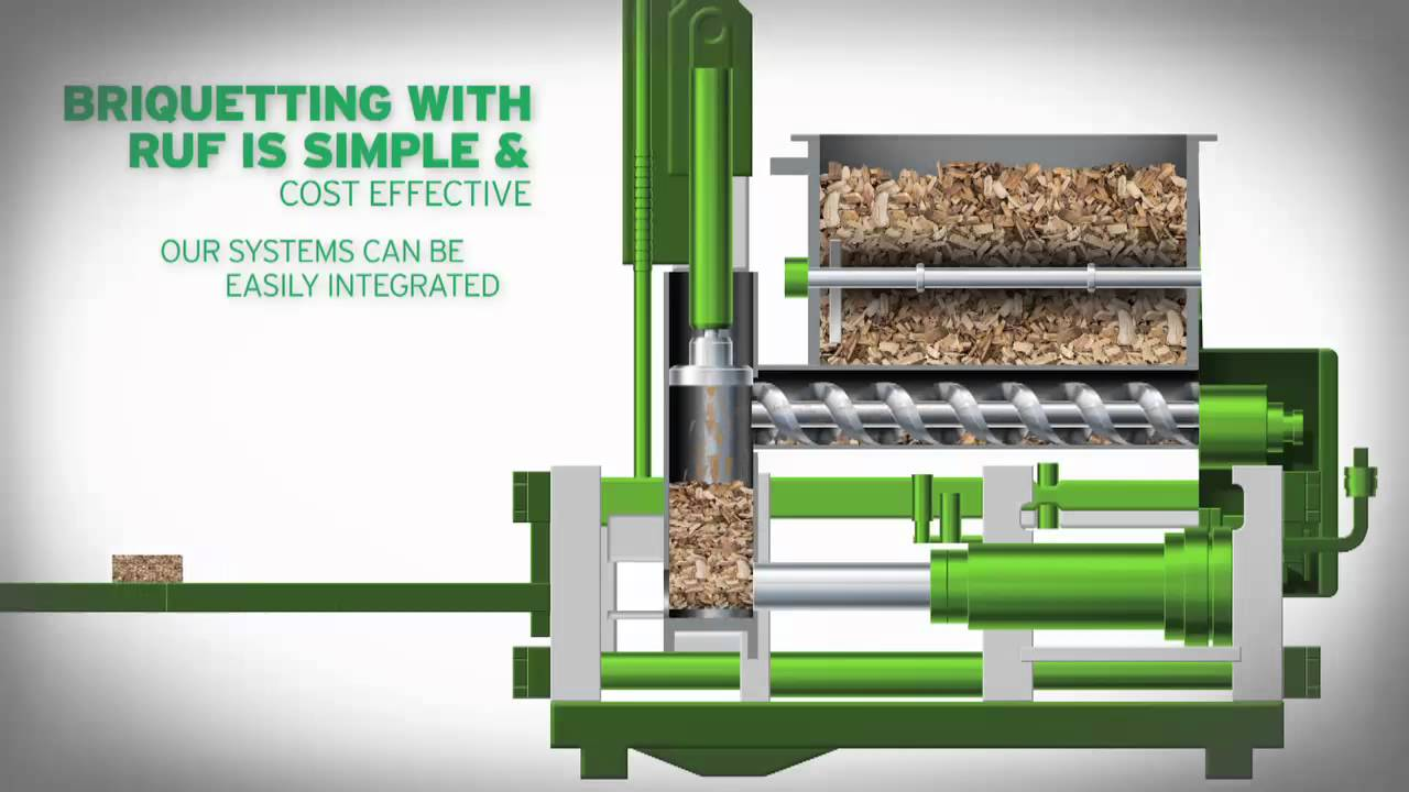 Wood Briquette Maker ~ Briquetting solving the wood waste dilemma