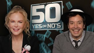 Nicole Kidman Answers 50 Rapid-Fire Personal Questions