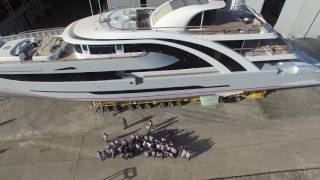 Mayra Yachts Launch 50m Superyacht