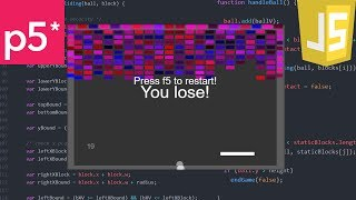 A Game A Day 3 - JavaScript Breakout!