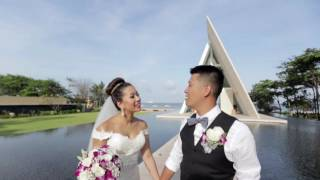"The Wedding of Elfrida + Jack ""infinity Chapel - Conrad, Bali"""