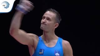 Saso BERTONCELJ (SLO) - 2018 Artistic Gymnastics European silver medallist, pommel horse
