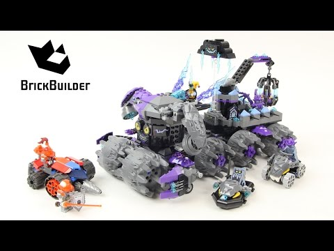 840 Pieces 70352 Lego Nexo Knights Jestro/'S Headquarters Age 9-14 New For 2017
