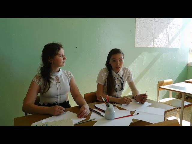 Изображение предпросмотра прочтения – «6 класс» читают произведение «Весенние вести» О.А.Беляевской