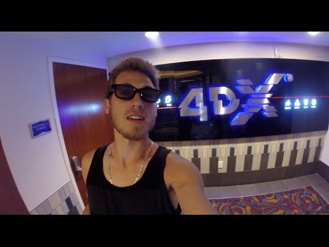 4DX MOVIE EXPERIENCE & SKY ZONE!