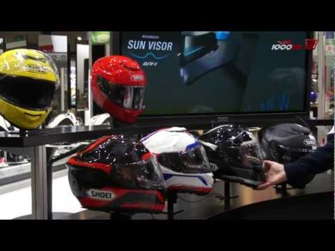 SHOEI GT AIR Helm 2013  - Präsentation