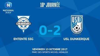 Entente SSG vs Dunkerque full match