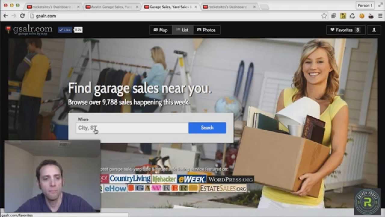 Gsalr com   My Favorite Free Garage Sale / Yard Sale Mobile App   Iphone &  Android