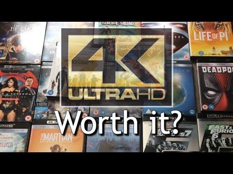 Which 4K UHD Bluray is Worth it?