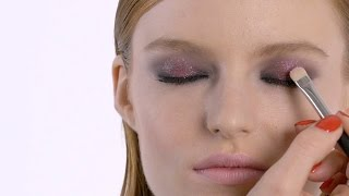 HOW-TO: SUGAR PLUM FAIRY HOLIDAY PARTY LOOK I MAC TUTORIAL