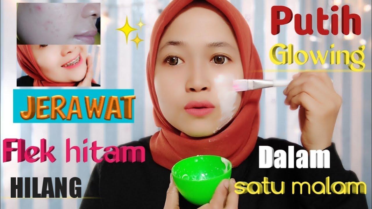 Masker Tepung Beras Madu Menghilangkan Jerawat Iyue Rabbani Youtube