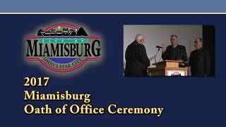 The 2017 Miamisburg Oath of Office Cerermony