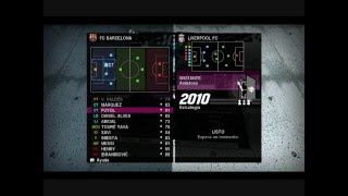 Menus of PES 2010 in DEMO