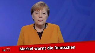 """Kanzlerin Angela Merkel warnt: """"Der Winter wird allen noch viel abverlangen"""""""