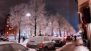 Thuỵ điển và tuyết❄️❄️❄️ Snow is Stockholm, Sweden, Snö i Sverige