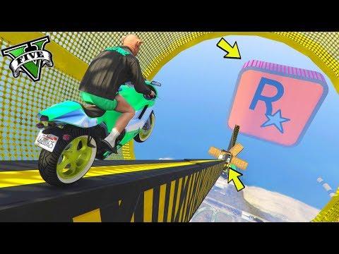 GTA 5 ONLINE 🐷 MEGA RAMPA ROCKSTAR !!!🐷 GARE STUNT 🐷N*177🐷 GTA 5 ITA 🐷 DAJE !!!