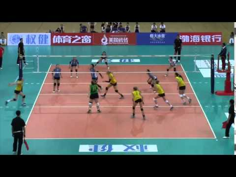 AUSTRALIA VS MONGOLIA   Asian Senior Volleyball Championships 2015