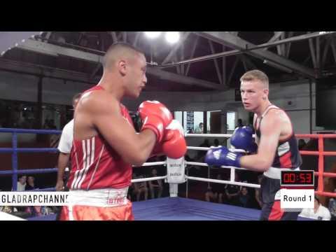 Best Fight of the Night - Tonga vs NZ -  Hone Huni vs Andrei Dreissen - ABA Stadium - 8 April 2017