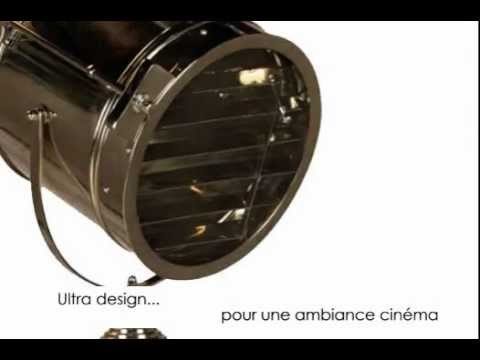 lampe projecteur cin ma heka youtube. Black Bedroom Furniture Sets. Home Design Ideas