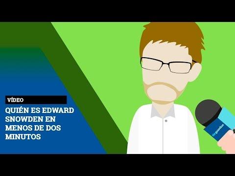 Quién es Edward Snowden en menos de dos minutos