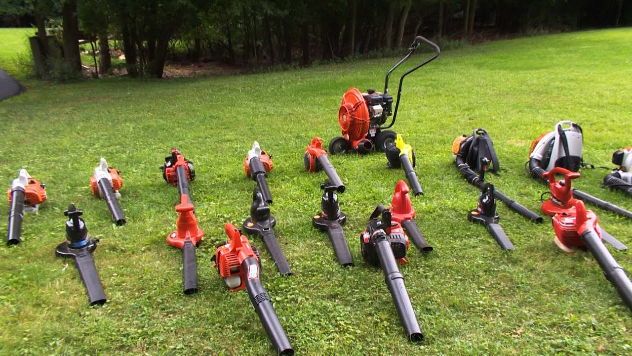 Leaf Blower Buying Guide Interactive Video