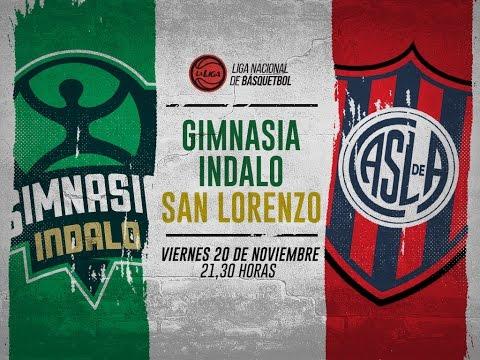Gimnasia Indalo- San Lorenzo EN DIRECTO