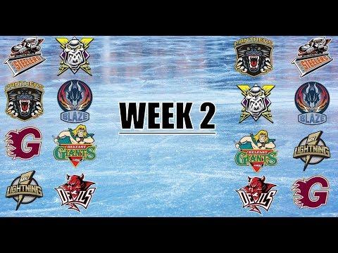 EIHL Match Highlights [Week 2] [04/09/17 - 10/09/17]