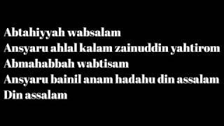 Gambar cover TOP NEW SINGLE NISSA SABYAN - Allahumma Labbaik - Deen Assalam (Lirik)