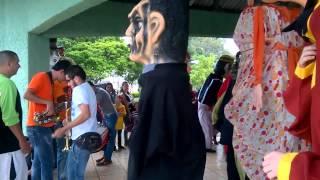 Mascaradas en San Rafael de Heredia