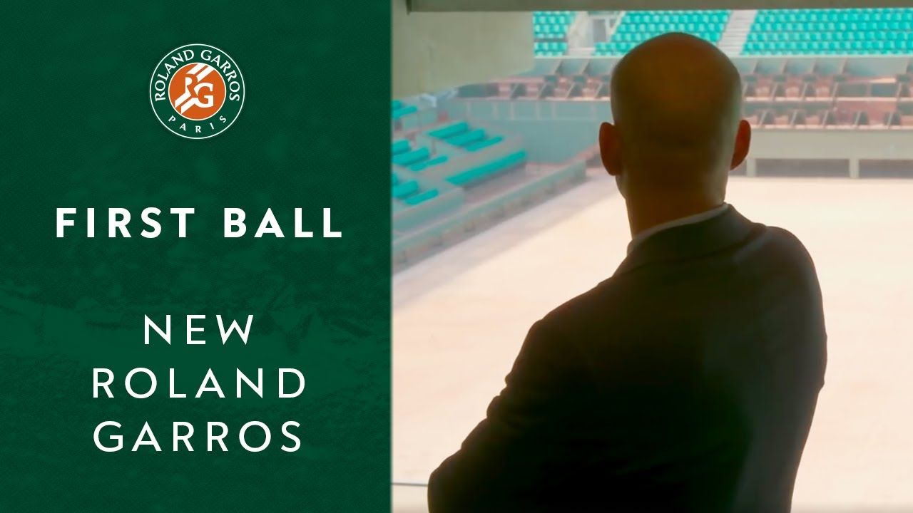 First ball | New Roland Garros