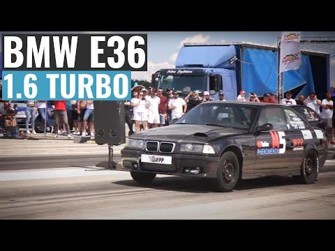 BMW E36 1.6 TURBO 11.7 vs BMW E36 1.6 TURBO