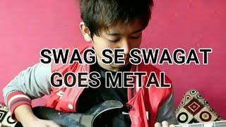 Swag se swagat Tamilmagic(ROCK VERSION)-Tiger zinda hai-electric guitar cover