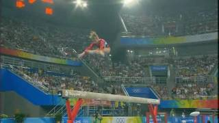 Shawn Johnson (USA) Qualifications BB Beijing Olympic Games 2008